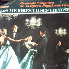 Discos de vinilo: LOS MEJORES VALSES VIENESES/ORQUESTA SINFONICA DE LA OPERA POPULARES VIENES. Lote 29584825