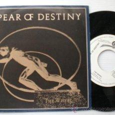 Discos de vinilo: SPEAR OF DESTINY, THE WHEEL, SINGLE CBS ESPAÑA 1983, PROMOCIONAL NUEVO, RARO, OFERTA Ç. Lote 29586635