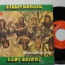Discos de vinilo: STEEPLECHASE-. LADY BRIGHT , NAVER COMING BACK, SINGLE POLYDOR 1970, NUEVO A ESTRENAR, RARO. Lote 29588549