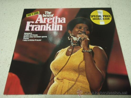 Discos de vinilo: Aretha Franklin ?– The Best Of Aretha Franklin, Germany 1980 Atlantic - Foto 1 - 29591933