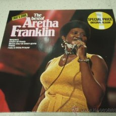 Discos de vinilo: ARETHA FRANKLIN ' THE BEST OF ARETHA FRANKLIN ' 1980 - GERMANY LP33 ATLANTIC RECORDS. Lote 29591933
