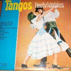 Discos de vinilo: TANGOS INOLVIDABLES. ORQUESTA TÍPICA ARGENTINA. DIRECTOR: VICENTE SABATER. Lote 29610650