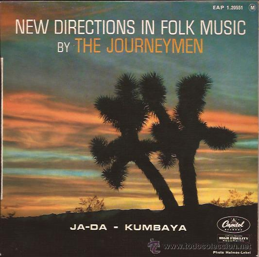 EP-THE JOURNEYMEN-CAPITOL 120551-FRANCE-FOLK MUSIC (Música - Discos de Vinilo - EPs - Rock & Roll)