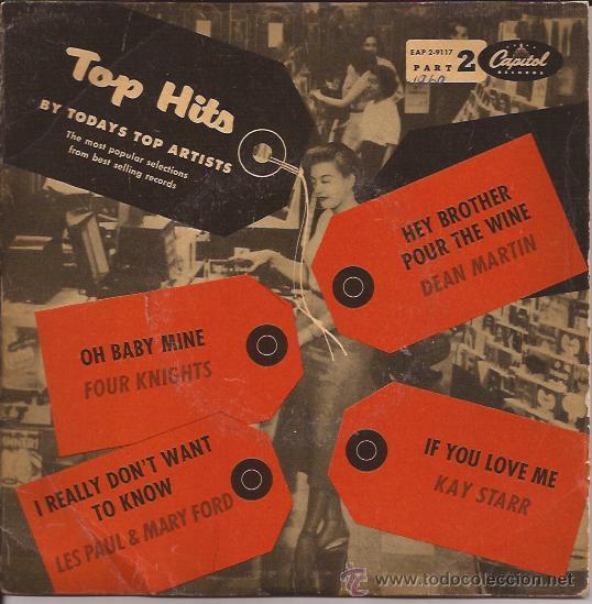 EP-VARIOS ARTISTAS-CAPITOL 2 9117-EDIC.SUDAMERICANA-SELLO ROJO (Música - Discos de Vinilo - EPs - Rock & Roll)