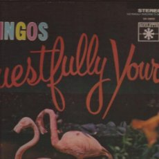 Discos de vinilo: LP-THE FLAMINGOS-REQUESTFULLY YOURS-ROULETTE 59033-REDICION 1984-DOO WOP-. Lote 29598455