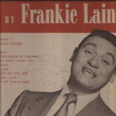Discos de vinilo: LP-FRANKIE LAINE-MERCURY 20069-ORIG. USA-1956. Lote 29598740