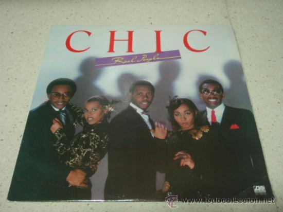 CHIC ' REAL PEOPLE ' NEW YORK - USA 1980 LP33 ATLANTIC RECORDS (Música - Discos - LP Vinilo - Funk, Soul y Black Music)