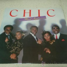 Discos de vinilo: CHIC ' REAL PEOPLE ' NEW YORK - USA 1980 LP33 ATLANTIC RECORDS. Lote 29603562