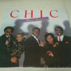 Discos de vinilo: CHIC ' REAL PEOPLE ' NEW YORK - USA 1980 LP33 ATLANTIC RECORDS. Lote 29603562
