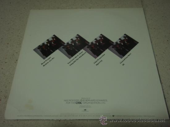 Discos de vinilo: CHIC ' REAL PEOPLE ' NEW YORK - USA 1980 LP33 ATLANTIC RECORDS - Foto 2 - 29603562