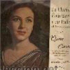 Discos de vinilo: QUETA CLAVER 10¨ (25 CTMS.) SELLO COLUMBIA AÑO 1958 EDITADO EN ESPAÑA. Lote 29604749