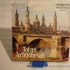 Discos de vinilo: JOTAS ARAGONESAS. Lote 29737429