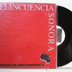 Discos de vinilo: LP - DELINCUENCIA SONORA -