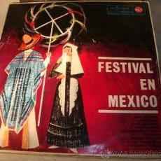Discos de vinilo: DISCO LP - FESTIVAL EN MEXICO, AÑO 1983. Lote 29613754