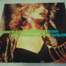 Discos de vinilo: KIM WILDE ( CAN'T GET ENOUGH(OF YOUR LOVE) 2 VERSIONES - SOMEDAY ) 1990-GERMANY MAXI45 MCA. Lote 29615172