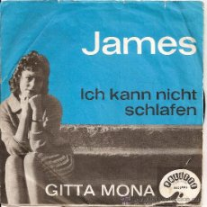 Disques de vinyle: GITTA MONA-SINGLE JAMES-ALEMAN. Lote 29622907