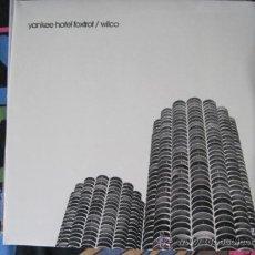 Discos de vinilo: WILCO - YANKEE HOTEL FOXTROT (2002) - LP DOBLE REEDICIÓN NONESUCH-SUNDAZED NUEVO. Lote 29623318