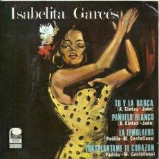 Discos de vinilo: ISABEL GARCES EP SELLO CEM AÑO 1968 EDITADO EN ESPAÑA. Lote 268820414