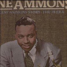 Discos de vinilo: LP-GENE AMMONS-STORY THE 78 RPM-PRESTIGE 24058-1976-DOBLE-JAZZ. Lote 29631324