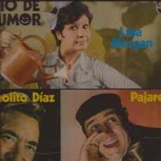 Discos de vinilo: LP-TRIO DE HUMOR-LINA MORGAN PAJARES MANOLITO DIAZ-PHILIPS 6429857-1976-MONOLOGOS-. Lote 29631346