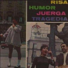 Discos de vinilo: LP-LINA MORGAN JUANITO NAVARRO-MARFER 30044-1967-MONOLOGOS HUMOR. Lote 29631412
