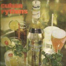 Discos de vinilo: SINGLE-RON HAVANA CLUB COMERCIAL-ORQ. EGREM-CUBAEXPORT-PUBLICIDAD-. Lote 29631965