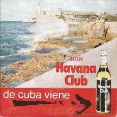 Discos de vinilo: EP-RON HAVANA CLUB-COMERCIAL- CUBAEXPORT-ORQ. EGREM-PUBLICIDAD-. Lote 29631988