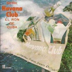 Discos de vinilo: EP-RON HAVANA CLUB-COMERCIAL- CUBAEXPORT-ORQ. MANUEL GALBAN-PUBLICIDAD-. Lote 29632004