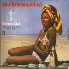 Discos de vinilo: SINGLE-RON HAVANA CLUB COMERCIAL-ORQ. EGREM-CUBAEXPORT-PUBLICIDAD-. Lote 29632015