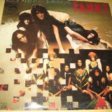 Discos de vinilo: FANNY - ROCK AND ROLL SURVIVORS - ED. ESPAÑOLA 1975. Lote 29639514