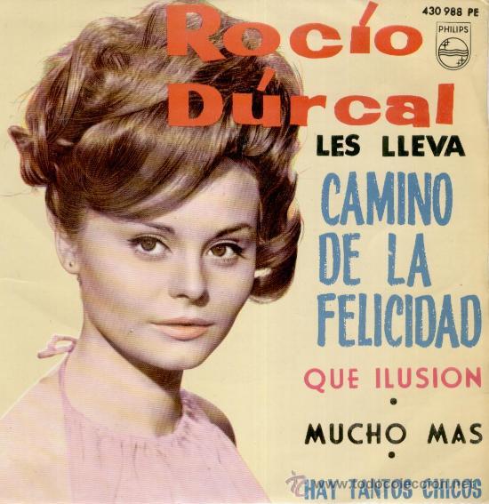 ROCIO DURCAL & LOS SONOR - HAY TANTOS CHICOS +3 - EP 1964 --- EX / EX (Música - Discos de Vinilo - EPs - Solistas Españoles de los 50 y 60)