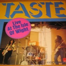 Discos de vinilo: TASTE - LIVE AT THE ISLE OF WIGHT - LP - POLYDOR FRANCE 2383 120 - RECORDED IN ENGLAND. Lote 29657137