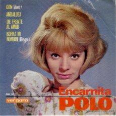 Discos de vinilo: ENCARNITA POLO - CON +3 - EP 1965 - VG+ / EX. Lote 29657438