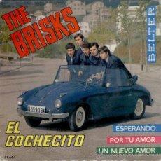 Discos de vinilo: THE BRISK - LOS BRISKS - EL COCHECITO - ESPERANDO - POR TU AMOR +1 - EP 1965 - VG++ / EX. Lote 29668993