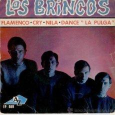 Discos de vinilo: LOS BRINCOS - FLAMENCO - CRY - NILA DANCE LA PULGA - EP FRANCIA - VG / VG++. Lote 29669394