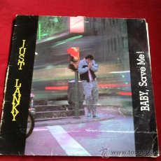 Discos de vinilo: JUST LANKY - BABY SAVE ME. MAXI SINGLE . MAX MUSIC ESPAÑA 1986. Lote 29672499