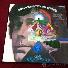 Discos de vinilo: JACK JONES SINGS MICHEL LEGRAND- LP - RCA RECORDS AUSTRALIA 1975. Lote 29672833