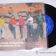 Discos de vinilo: LOS TACONES 7´SG UNA NOCHE DE SAN JUAN + 1 EDITA VERGARA 1967 * RARO*. Lote 29673126