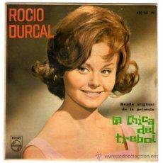Discos de vinilo: ROCIO DURCAL – LA CHICA DEL TREBOL (BSO) – EP SPAIN 1963 – PHILIPS 430 961 PE. Lote 29676738
