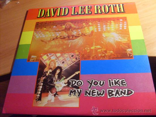 DAVID LEE ROTH ( DO YOU LIKE MY NEW BAND ? ) 2 LP UK 1987 WITH POSTER ( NM/NM) (VIN1) (Música - Discos - LP Vinilo - Heavy - Metal)