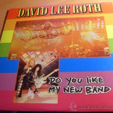 Discos de vinilo: DAVID LEE ROTH ( DO YOU LIKE MY NEW BAND ? ) 2 LP UK 1987 WITH POSTER ( NM/NM) (VIN1). Lote 29677919