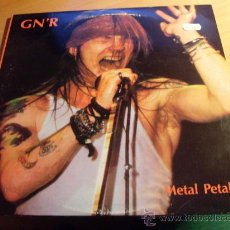 Discos de vinilo: GUNS N' ROSES ( METAL PETALS ) 2 LP 1989 CLUB 51 RECORDS (VIN1) . Lote 29687255
