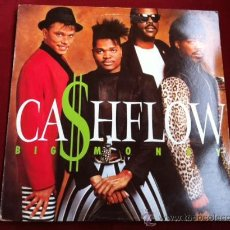 Discos de vinilo: CASHFLOW - BIG MONEY . LP . MERCURY RECORDS ESPAÑA 1988. Lote 29679899