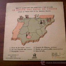 Discos de vinilo: SINGLE LA ESPAÑA QUE USTED NO CONOCE-ODEON. Lote 29685024