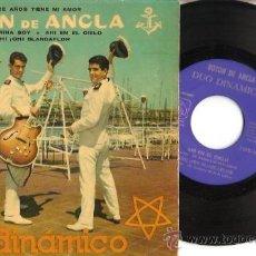 Dischi in vinile: EP DUO DINAMICO - BOTON DE ANCLA -GUARDAMARINA SOY- AHI EN EL CIELO- OH OH BLANCAFLOR. Lote 29696110