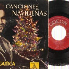 Discos de vinilo: EP LUCHO GATICA - CANCIONES DE NAVIDAD. Lote 29696235