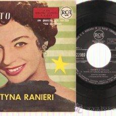 Discos de vinilo: EP KATYNA RANIERI - CACHITO - CASITA EN CANADA- ESTAS CONMIGO - DE UN MUNDO RARO. Lote 29696278
