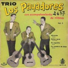 Discos de vinilo: LOS PAYADORES - OFRENDA + 3 (EP DE 4 CANCIONES) HISPAVOX 1960 - VG++/VG++. Lote 29697155