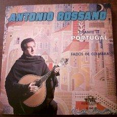 Discos de vinilo: S EDITIONSINGLE ANTONIO ROSSANO CHANTE LE PORTUGAL-FADOS DE COIMBRA-DISQUES TYPIC EDITIONS J.GARZON . Lote 29698665