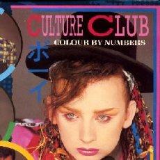 Discos de vinilo: CULTURE CLUB - COLOUR BY NUMBERS (LP). Lote 29698970